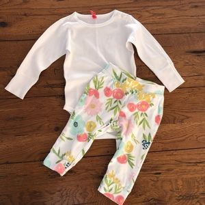Hanna Andersson long sleeve onesies w/ leggings